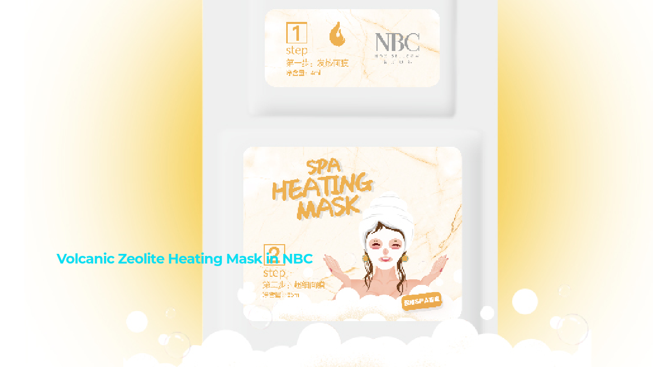 Volcanic Zeolite Heating Mask | Nox Bellow