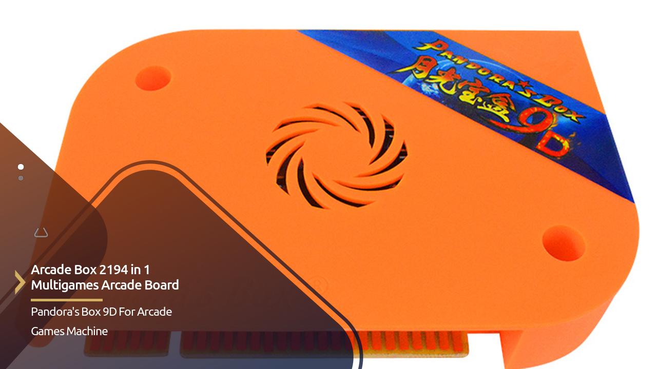 Arcade Box 2194 In 1 Multigames Arcade Board Pandora's Box 9D
