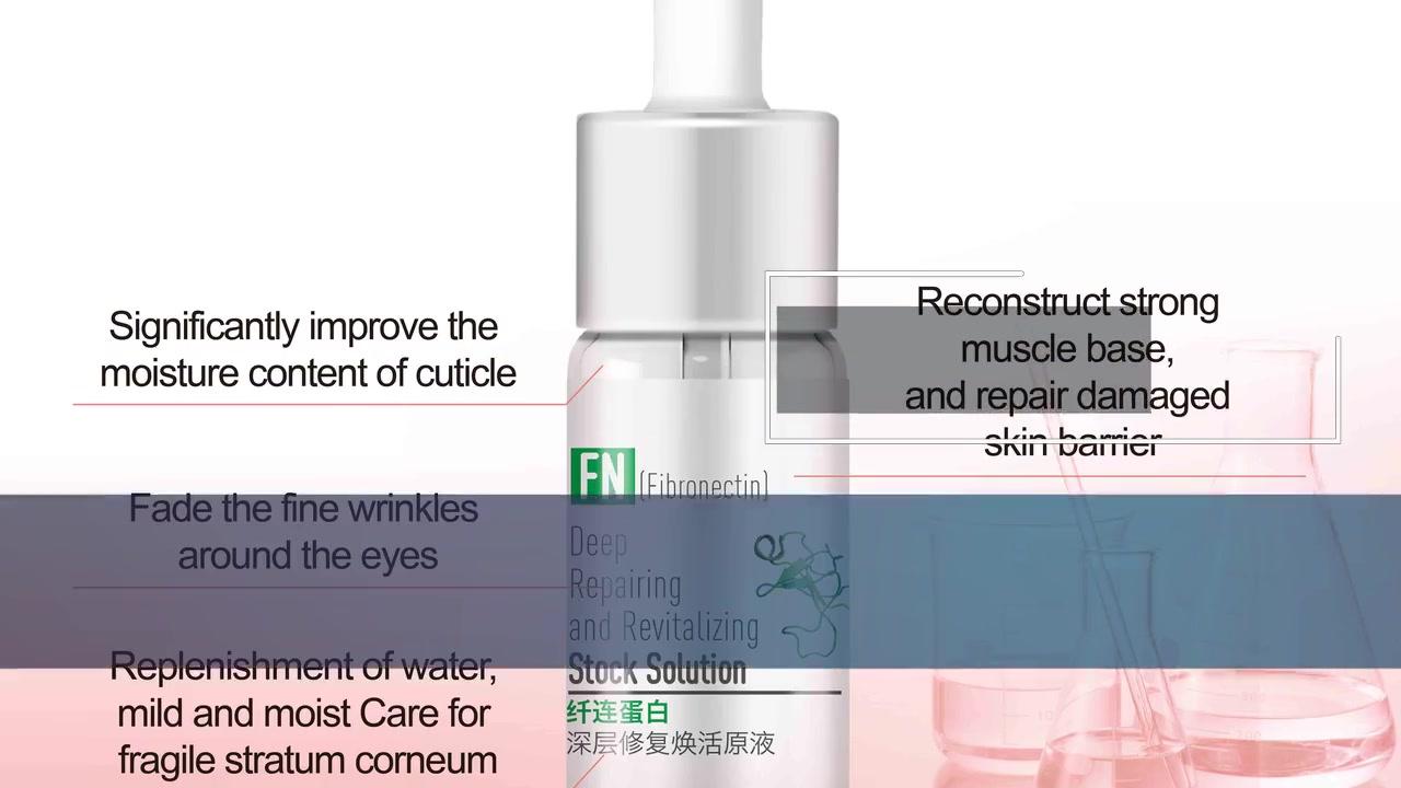Solución Stock Revitalizante y Reparadora Profunda Cuidado de la Piel | Nox Bellow