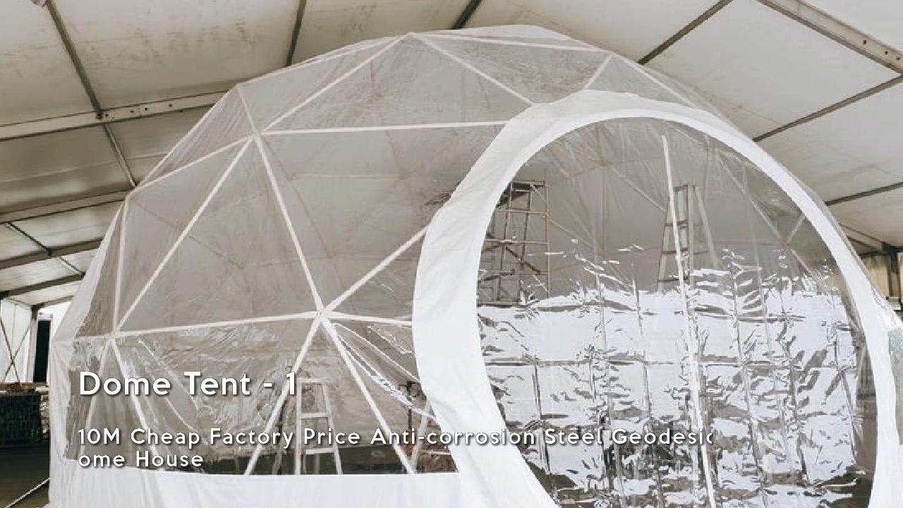 Ammattimaiset Dome-telttojen näyttövalmistajat