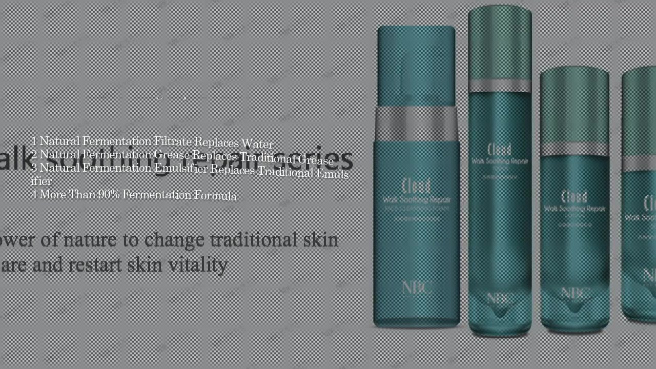 Cloud Walk Soothing Repair Series skin care product | Nox Bellow