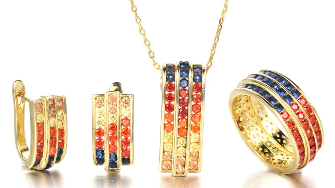 925 srebrni set nakita nevidljivi postavi nakit Kirin Nakit 26328 84468