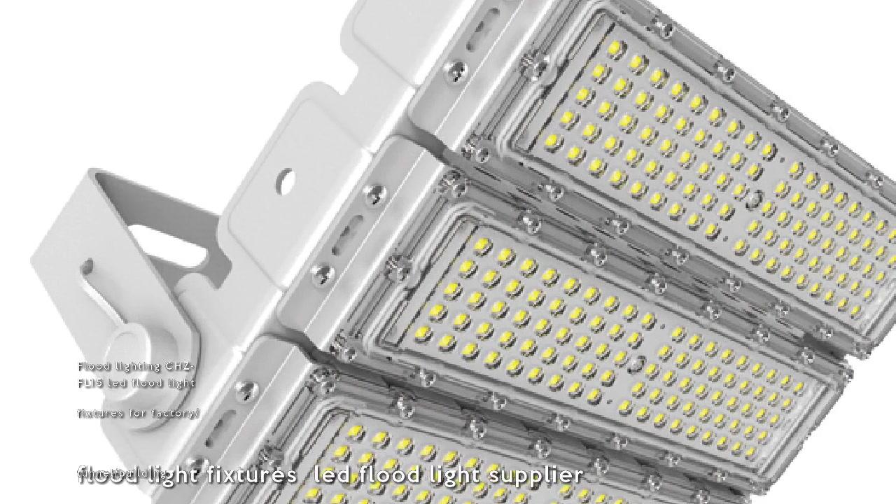 Oświetlenie powodziowe CHZ-FL15 oprawy oświetleniowe ledowe do fabryki / tunelu / budynku