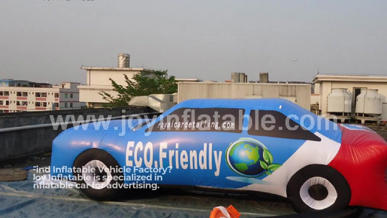 Outdoors Promotion Inflatable Vehicle Car For Advertising Display Wholesale