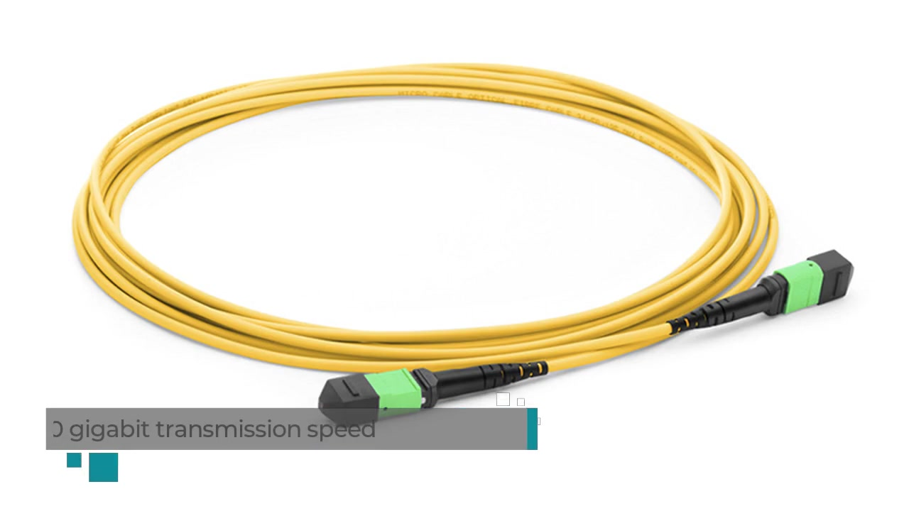 MPO Fiber Patch cord cable Video Display