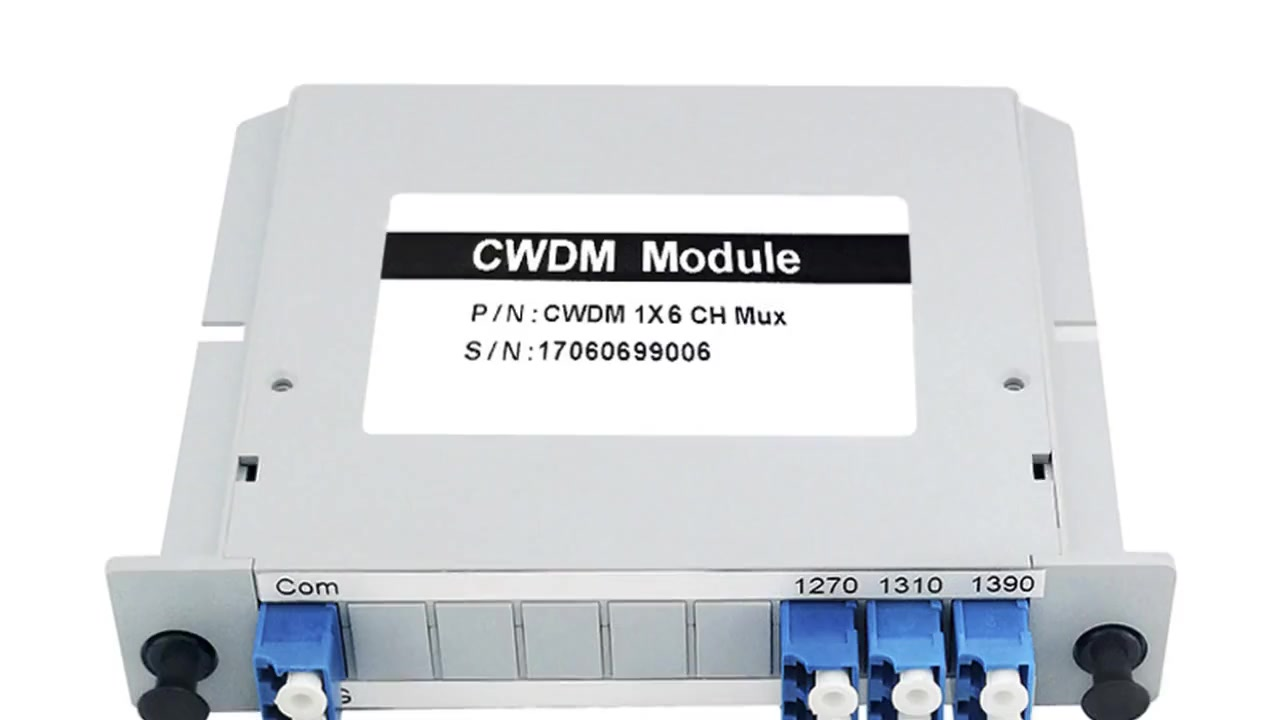 LGX Box Type CWDM&DWDM Module VIDEO