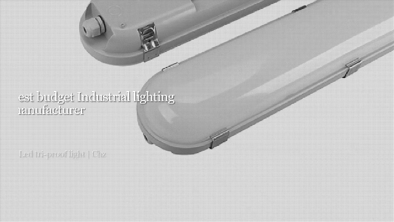 Oświetlenie przemysłowe CHZ-SF04 Tri-proof LED light