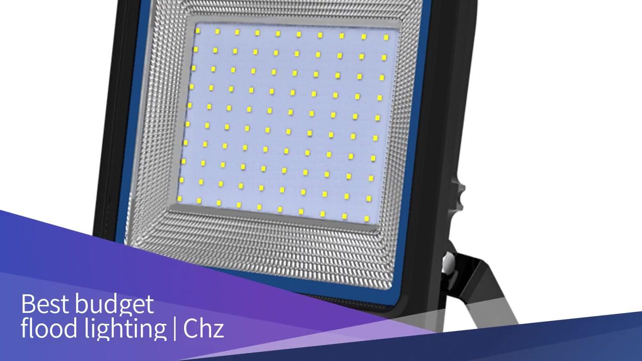 L'illuminazione per l'inundazione CHZ-FL33 cuncepimentu novu RGB hà lampatu luminarii