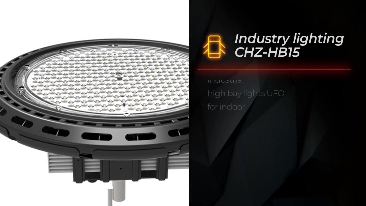 Illuminazione industriale CHZ-HB15 luci industriale di alta baia UFO per interni