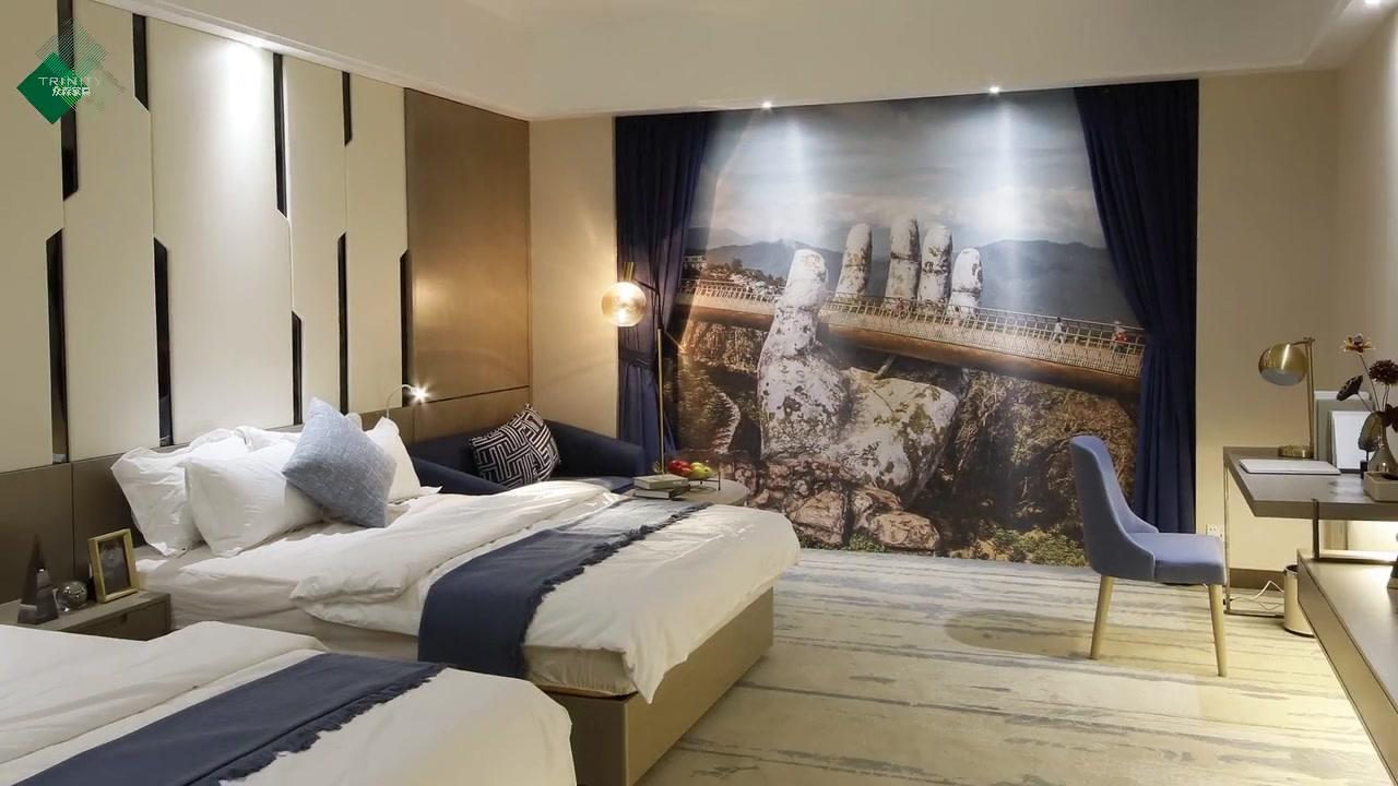 Suite furniture model room - boutique hotel furniture