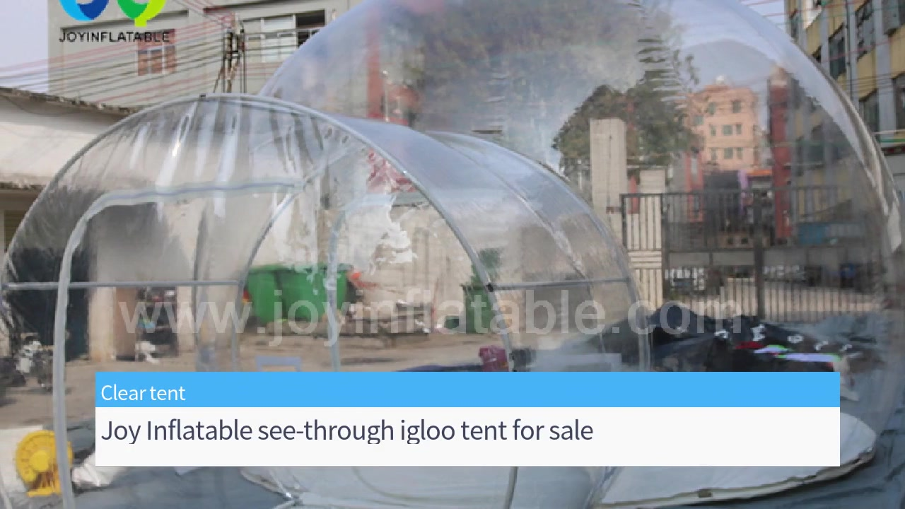 Outdoor Inflatable Transparent See Through Igloo Bubble Tent House for Camping
