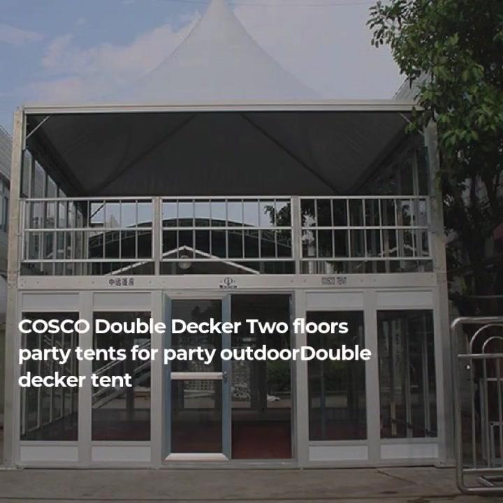COSCO Double Decker Tenda me dy kate për festa në natyrë