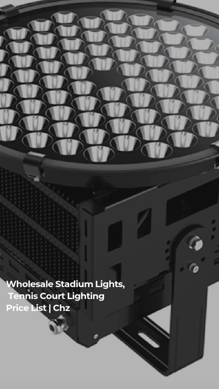 Luci di stadiu CHZ-FL09 ha purtatu l'installazioni alluministe alluminate