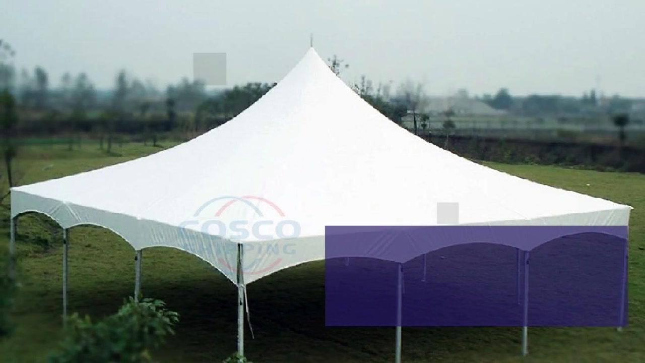 Tendë e markës promovuese në Kinë 20 x 20 Tendë kanate e palosshme
