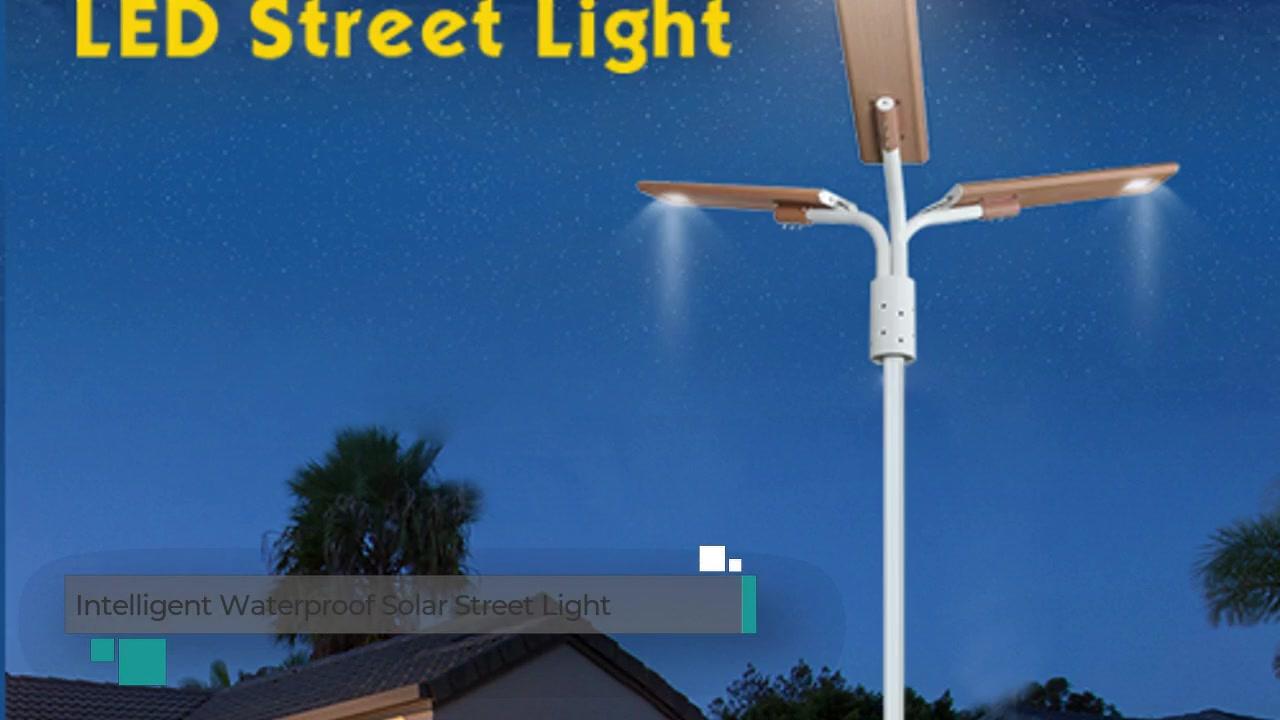 Intelligent Human Body Induction Waterproof Solar Street Light