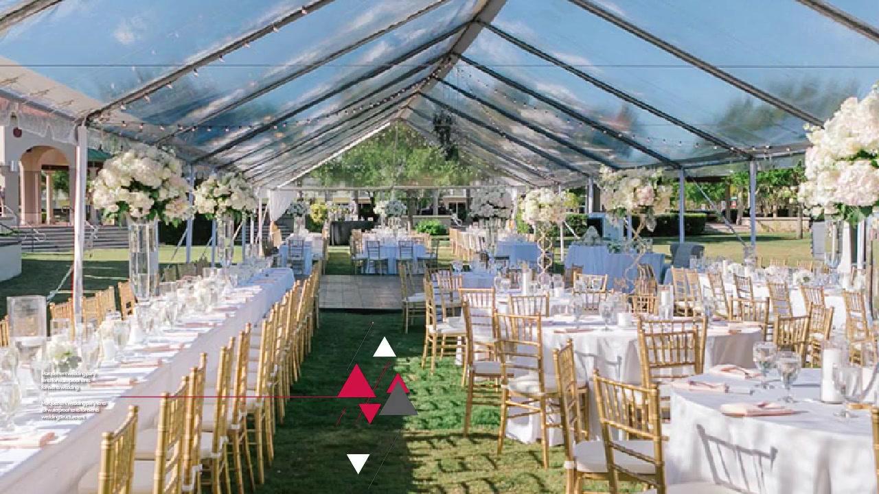 Barracas da festa de casamento da barraca do famoso para barracas impermeáveis para eventos casamento