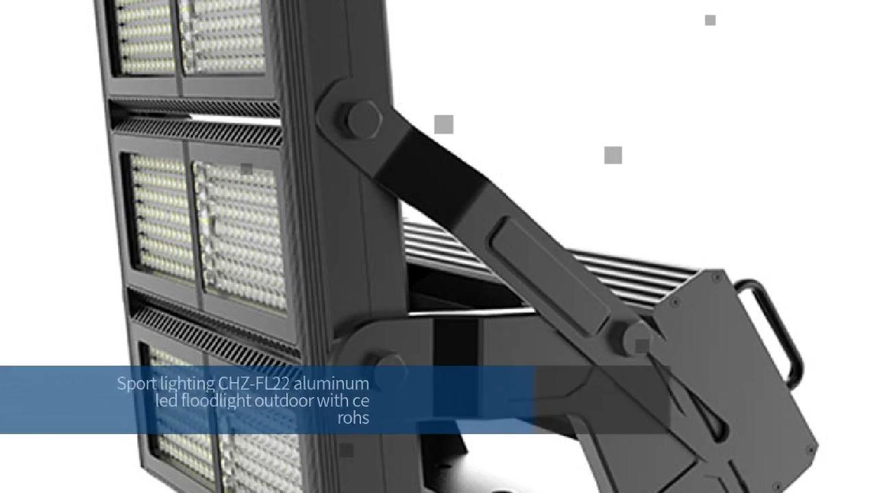 Sportbeligting CHZ-FL22 aluminium-ligliggie buite met ce rohs