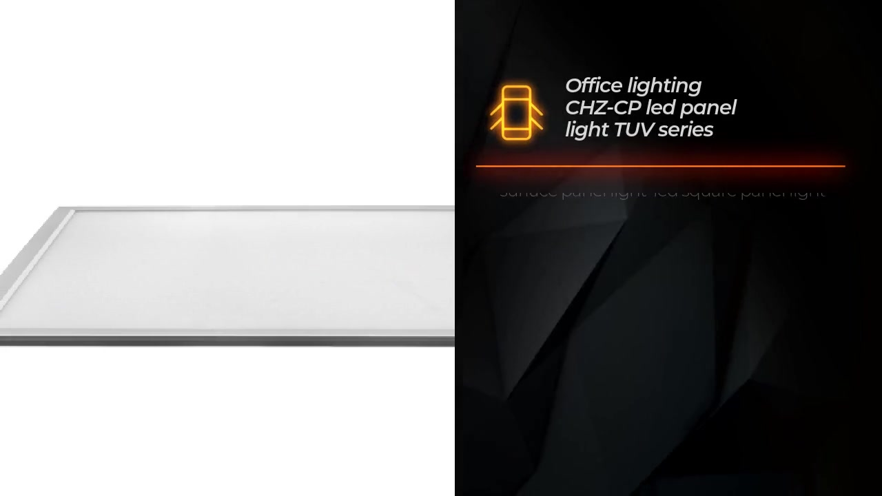 Office lighting CHZ-CP led panel light TUV series