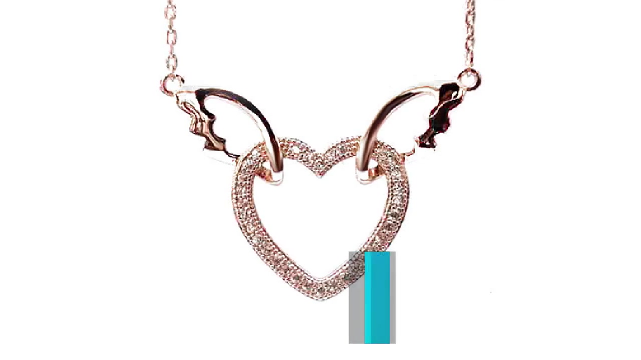 Best Love Wings 925 Sterling Silver Pendant for Woman 28449 Price Factory