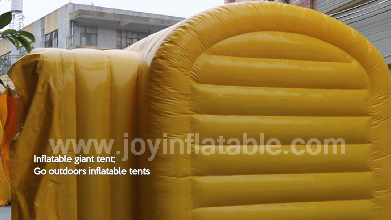 Airtight Inflatable Connecting Part Tent For the Sport Event, Go Outdoors Inflatable Tents