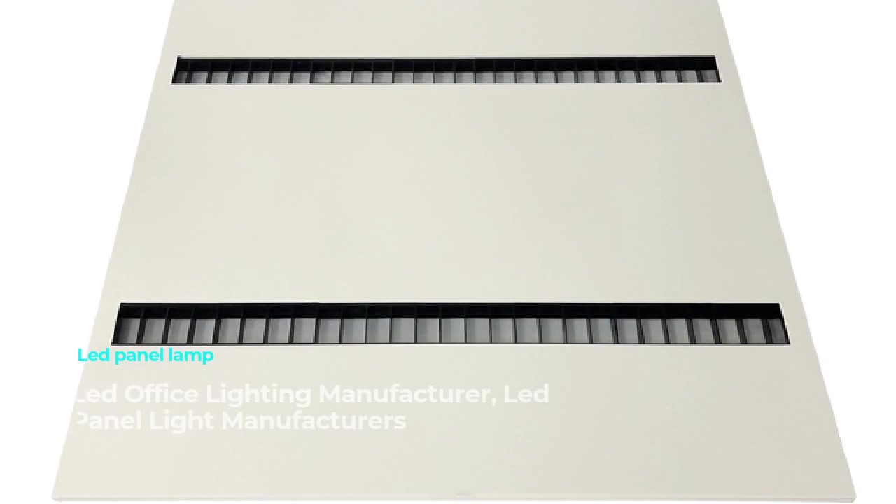 Iftiiminta xafiiska CHZ-CP LED Panel Panel Module Light