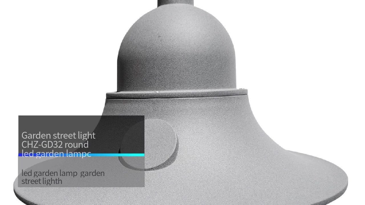 Lampada di strada di giardinu CHZ-GD32 lampada di giardinu led