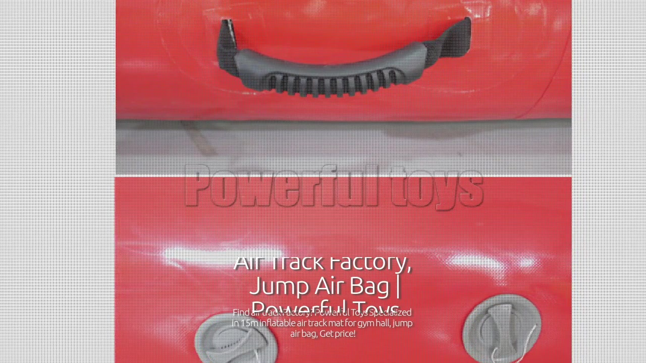 Inflatable air track mat for wholesale, AAA air track factory