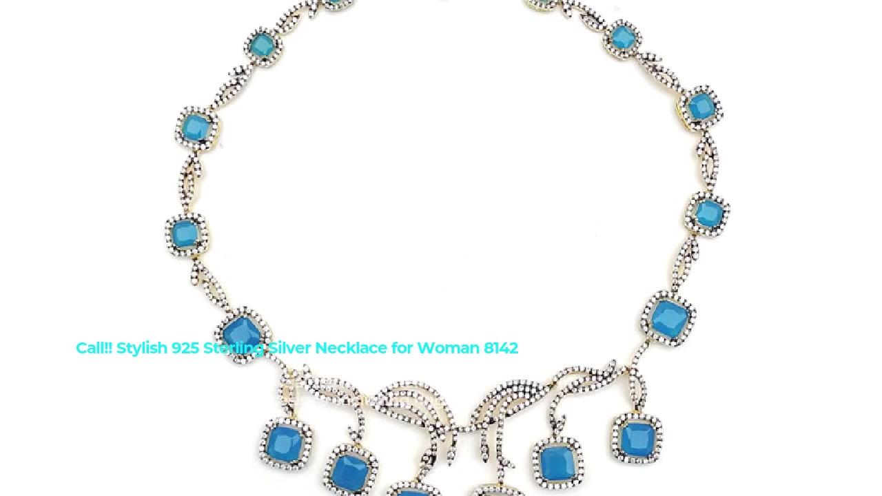 Kalung Pérak Seueur 925 Sterling Perhiasan pikeun Wanita 81420NW Pembekal
