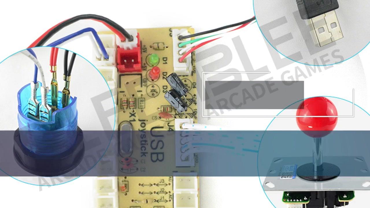 Wholesale PCB Circuit Board For Arcade Rocker Joystick Control | Blee