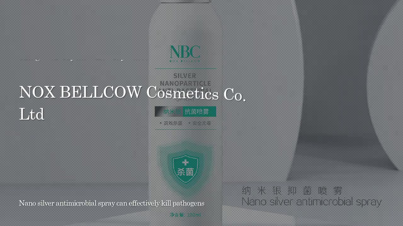Nano Silver Antimicrobial Makeup Setting Spray | Nox Bellcow