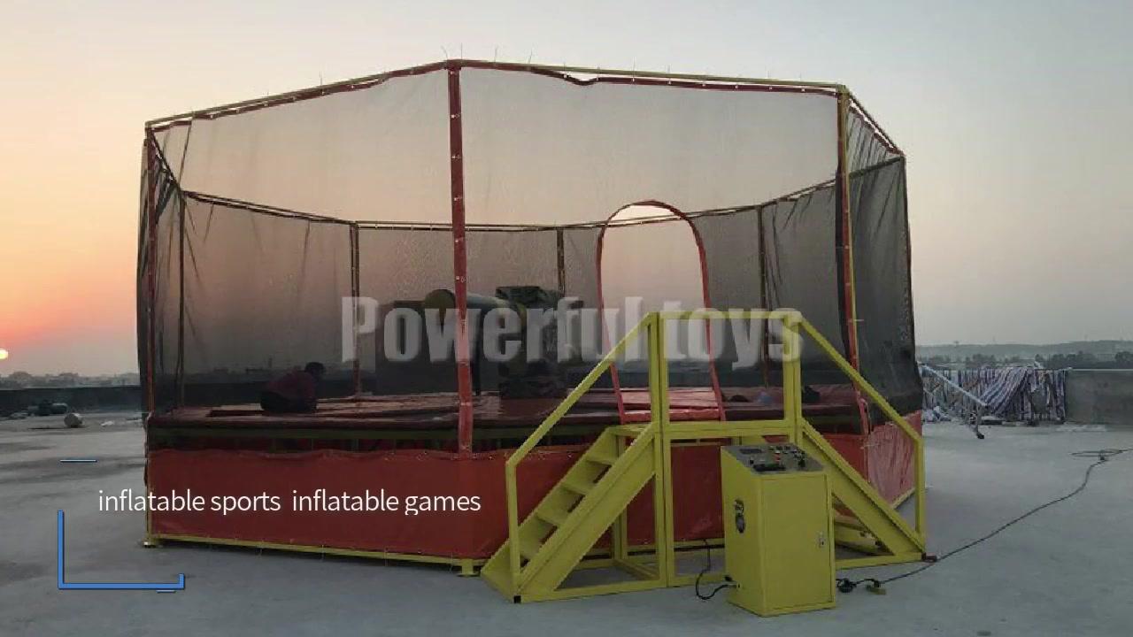 정리 트램펄린 도전 게임 공급 업체, 정리 풍선 공장