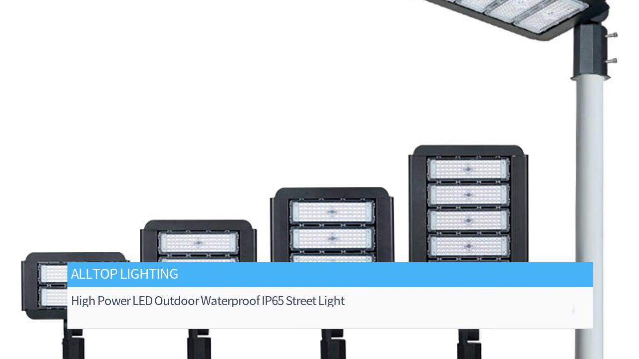 100W 150W 200W 300W High Power LED Outdoor Waterproof IP65 Street Light