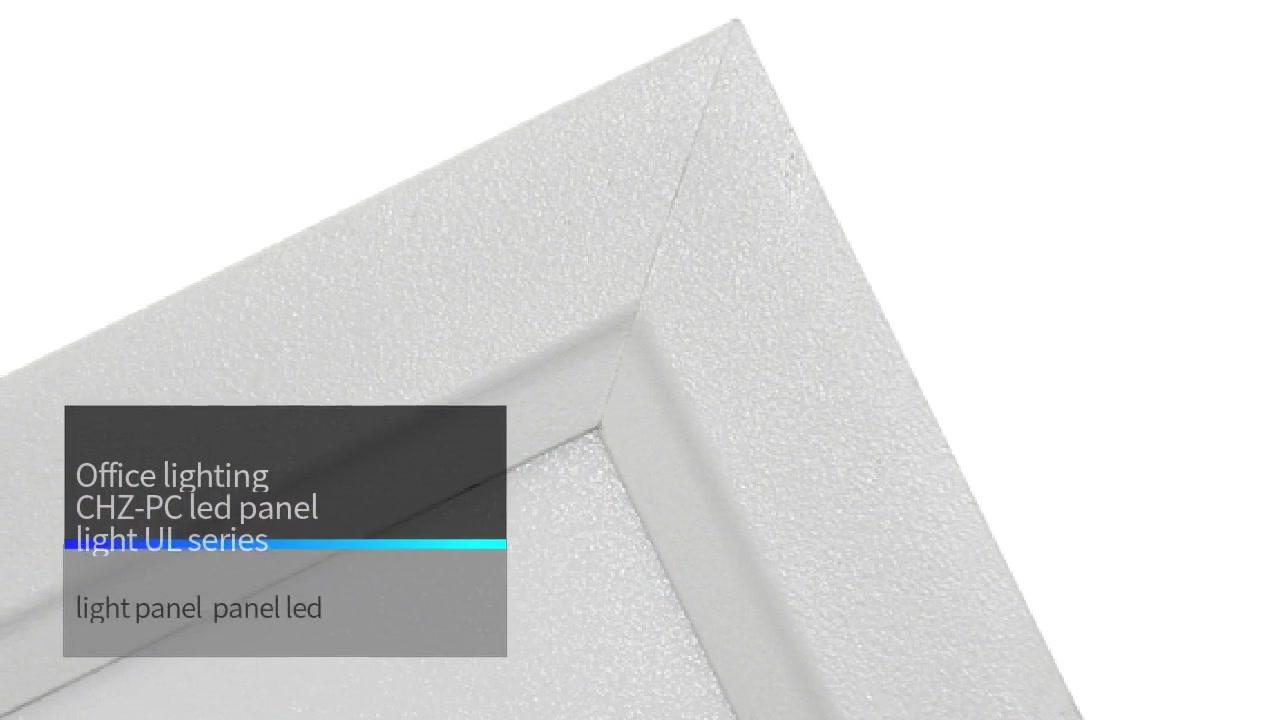 Bürobeleuchtung CHZ-PC LED-Flächenleuchte UL-Serie