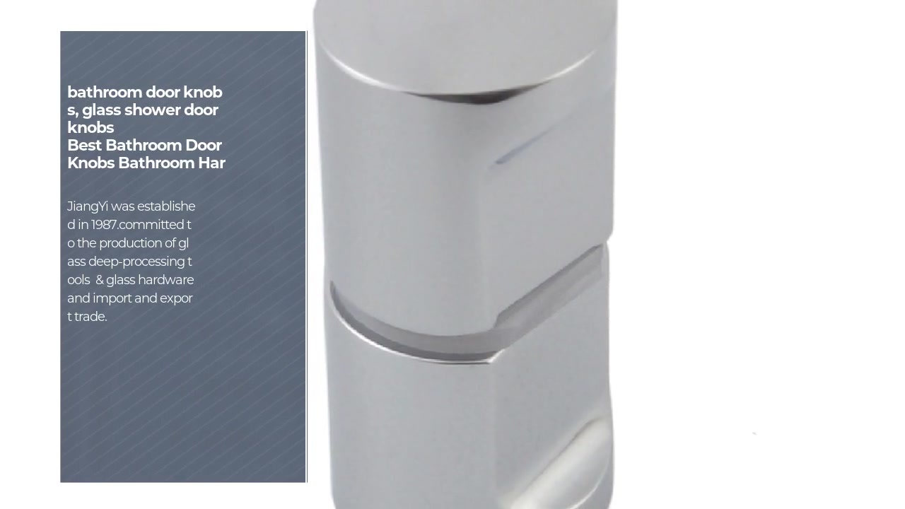 Bathroom door knobs Bathroom Hardware Fitting Door Knobs Bright Chrome Brass SDK-15 | JY