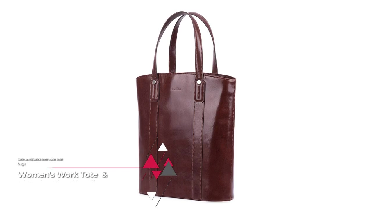 Best Tote leather handle with zipper closure FactoryPrice-
