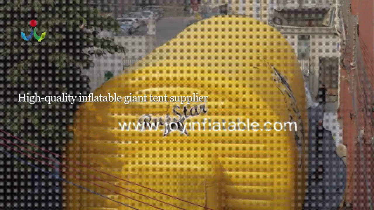 Double PVC Air Wall Waterproof Inflatable Airtight Sport Court Tent-Best blow up tent
