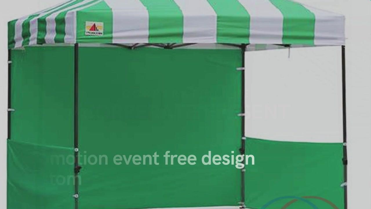 ხელშეწყობის ღონისძიება უფასო დიზაინის საბაჟო canopy gazebo კარავში
