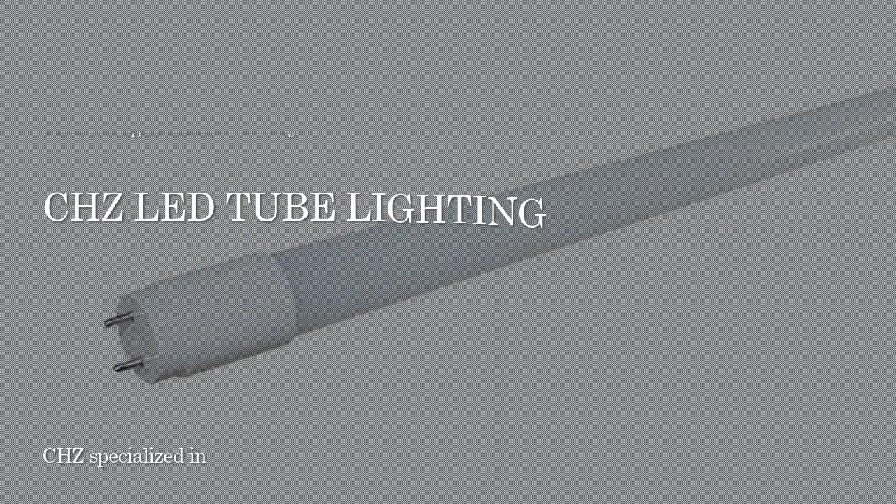 Ndriçimi i tubit CHZ-LT03-T8-PC (i përgjithshëm) udhëhequr nga drita tub T8
