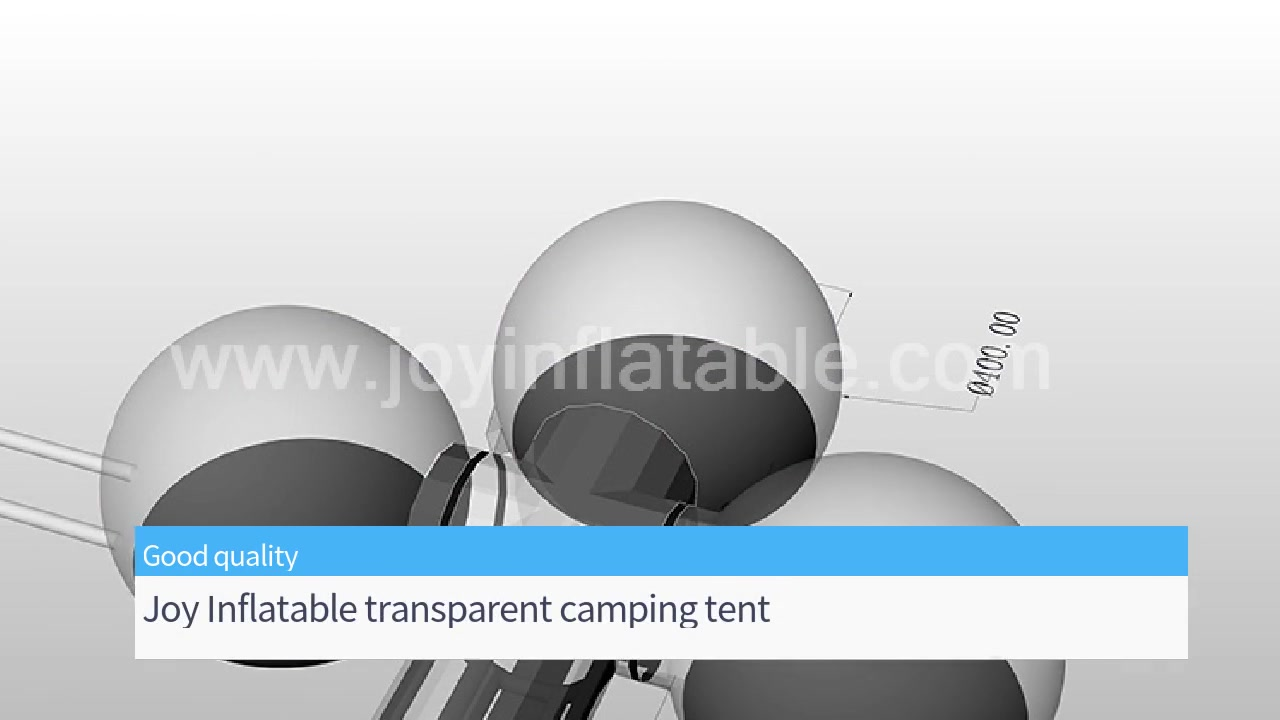 Transparent Camping Tent Inflatable Clear Blow-up Tent House For Lawn Exhibition