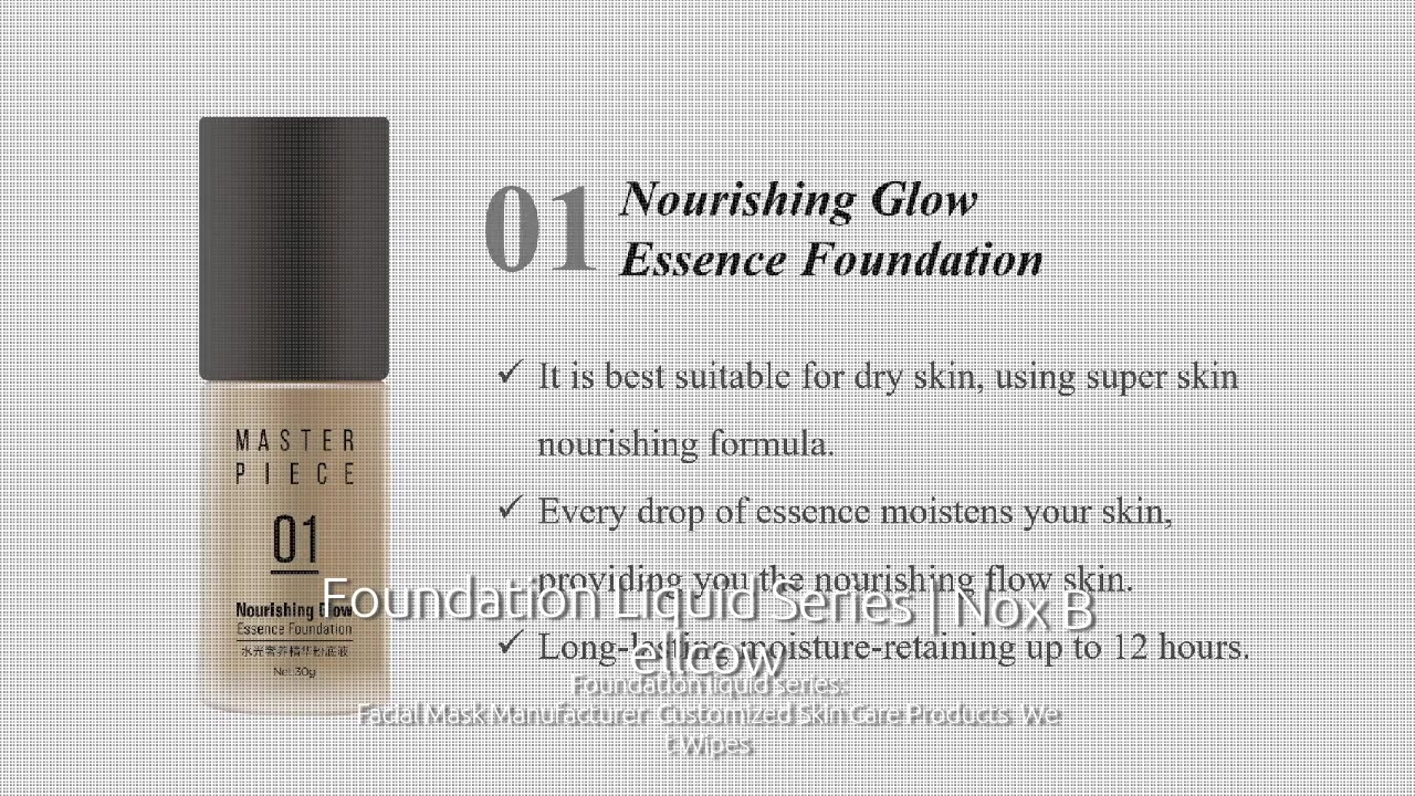 Foundation Liquid Series | Nox Bellcow