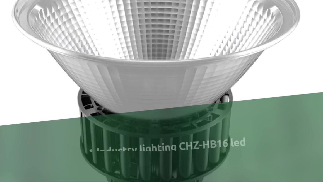 Oświetlenie przemysłowe CHZ-HB16 oprawa ledowa typu high bay