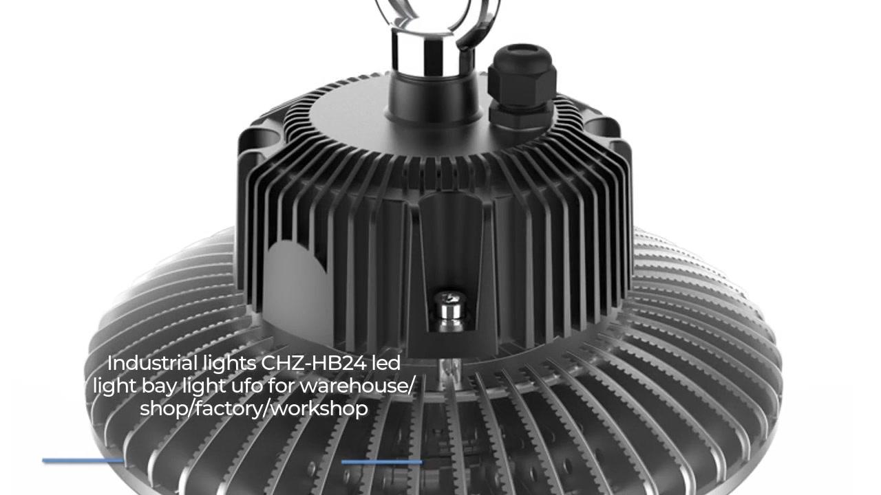Dritat industriale CHZ-HB24 udhëhequr nga drita e gjirit dritë e lehtë për depo / dyqan / fabrikë / punëtori