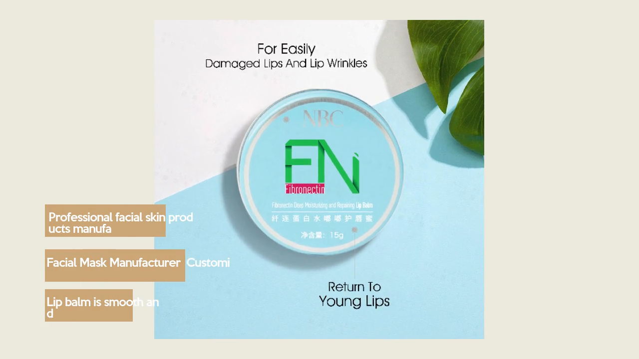 Fn (fibronectin) Deep Moisturizing And Repairing Lip Balm | Nox Bellcow
