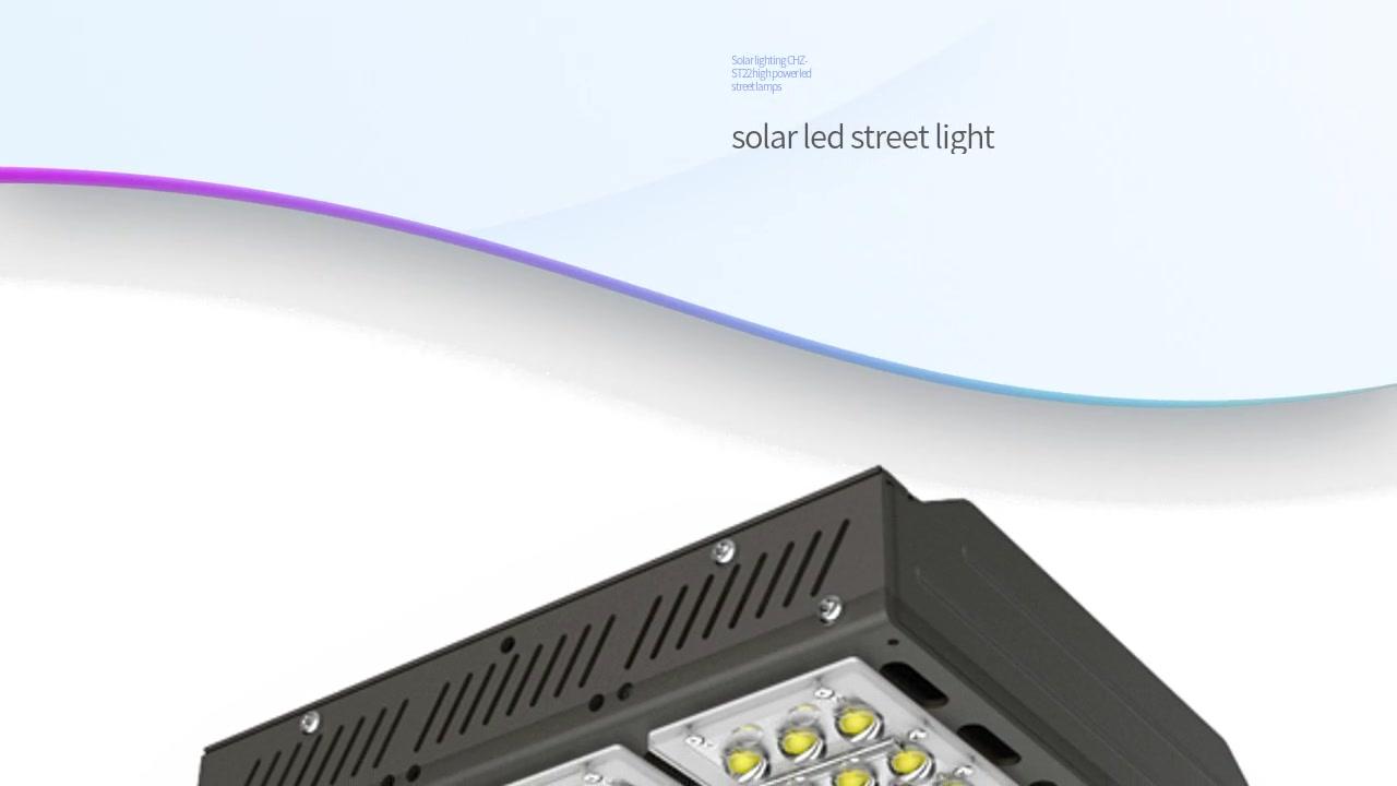Fiksues i dritës diellore CHZ-ST22 me dritë të lartë të udhëhequr nga energjia elektrike