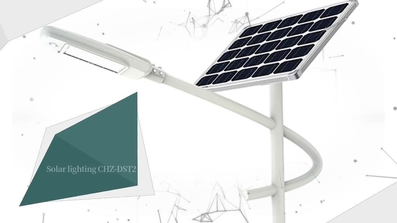 Solar LED-Beleuchtung CHZ-DST2 solarbetriebene Straßenlaternen für den Außenbereich