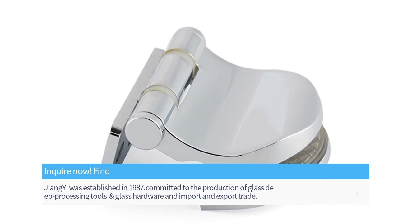 Glass Door Hinges&Hinge Glass Shower Door Solid brass pivot hinge SH-7-15 | JY