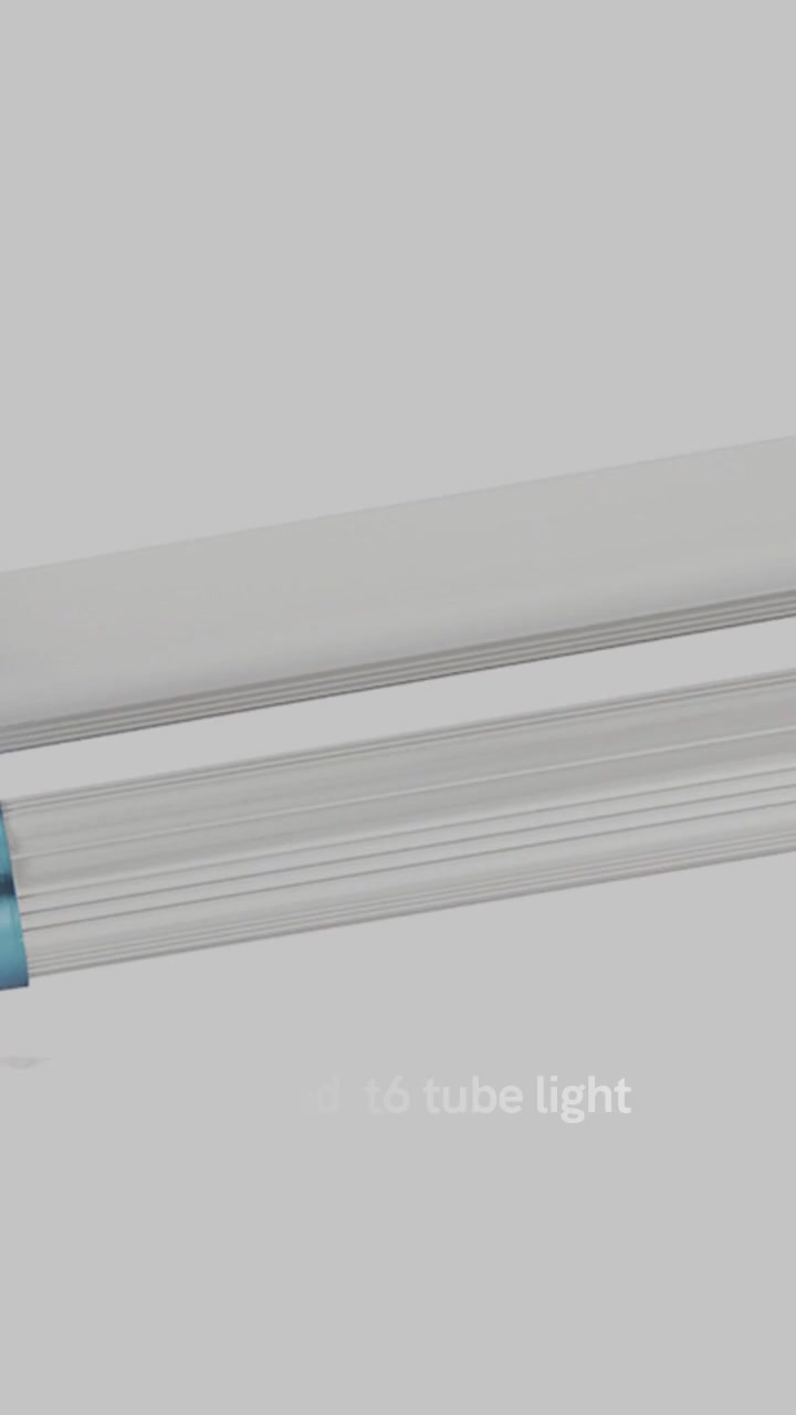 Led tube Light CHZ-LT06-T6 led tube light T6 ነጠላ ወይም ሁለቴ ያገናኛል ተራ ዓይነት AL + PC ቁሳቁስ