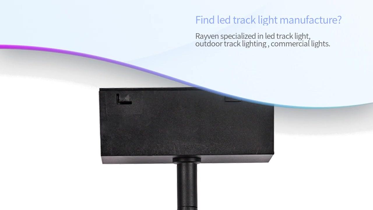 Custom Magnetic Led Track Light Outdoor Track Lighting Rayven
