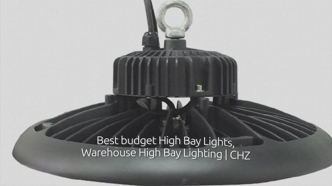 Industria argiztapena CHZ-HB15C UFO-k badia handiko argia ekarri du fabrikako biltegira
