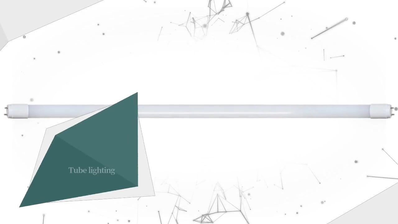 Oświetlenie świetlówkowe LED CHZ-LT03-Glass-T8 Świetlówki ledowe Certyfikat CE ROHS (kompatybilne)